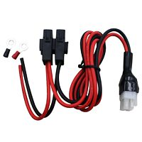 6 pin 12AWG DC power cord cable for Kenwood TS-2000 TS-570