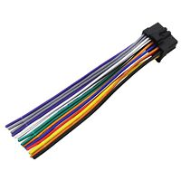 pioneer deh 1100 deh 1150 deh 2100 deh 2150 wiring harness ships aftermarket stereo radio receiver wire harness for pioneer deh 270 deh 1100mp