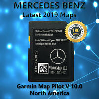 2015-2017 Mercedes-Benz SD Card GPS Navigation GLC E C-Class Garmin