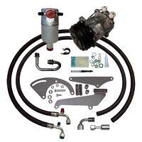 88-90 CHEVY GMC TRUCK V8 A/C COMPRESSOR UPGRADE KIT AC Air