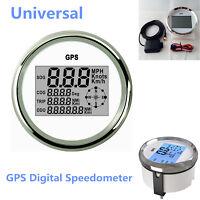 Waterproof Marine Boat Car GPS Speedometer Odometer Digital Gauges