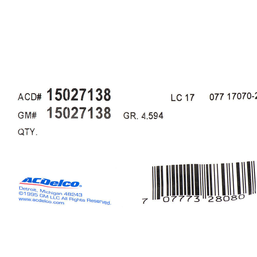 Parking Brake Release Cable ACDelco GM Original Equipment 15027138