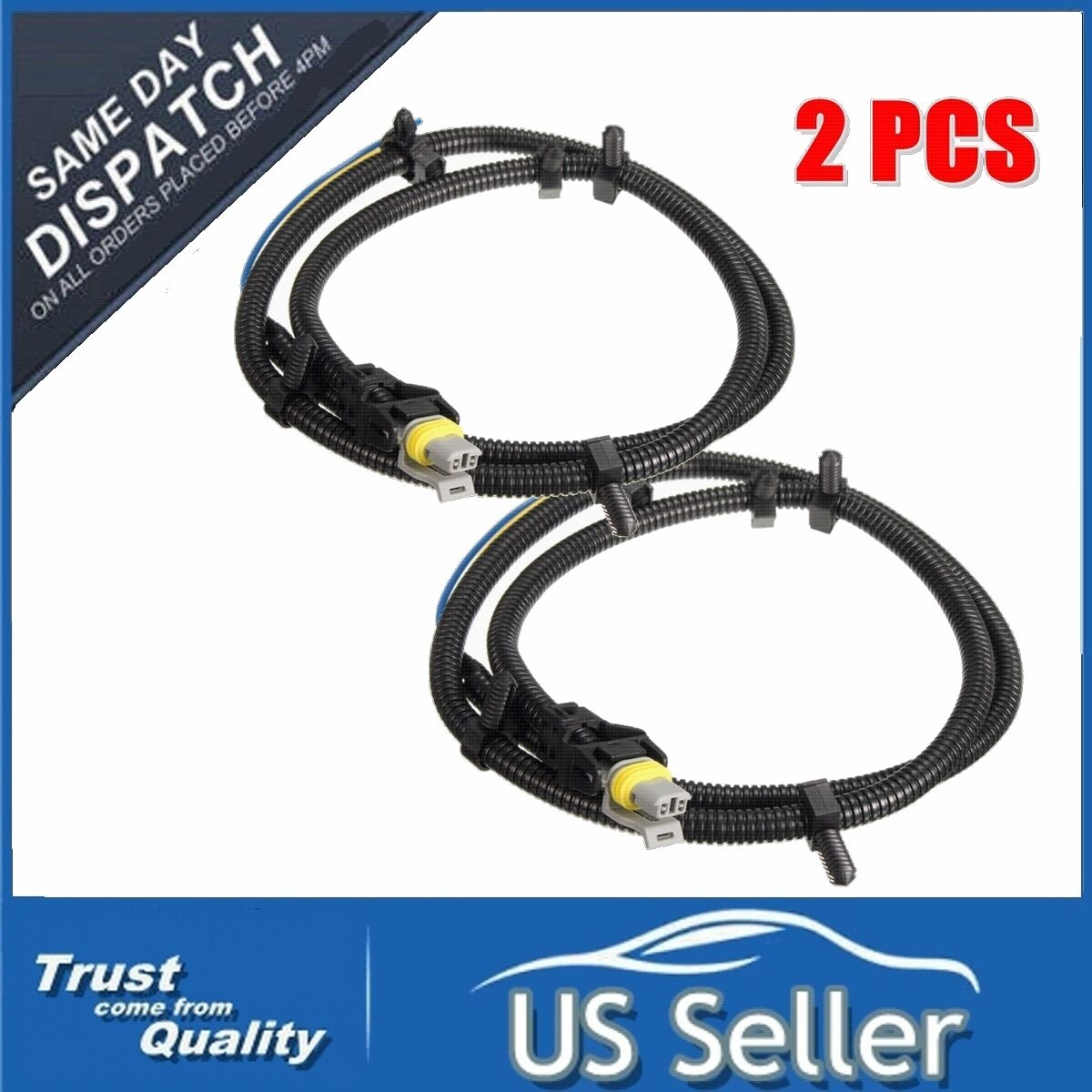 2x ABS Wheel Sd Sensor Wire Harness Plug Pigtail For ... Abs Wiring Harness Gm on