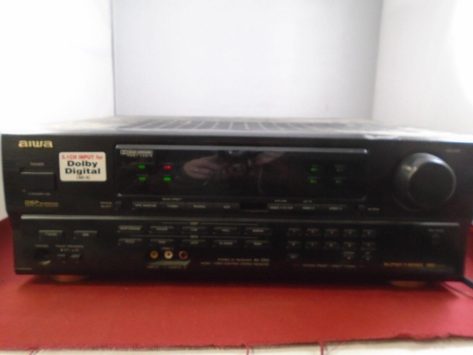 Aiwa AV-D50U Stereo AV Receiver Parts or repair