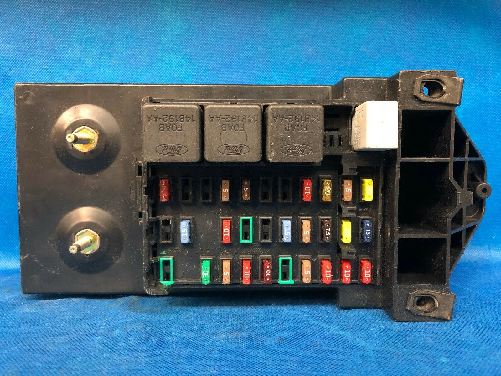 03 Ford F250 F350 Super Duty Interior Fuse Box Relay Fusebox 1c3t Description Used Factory Dash