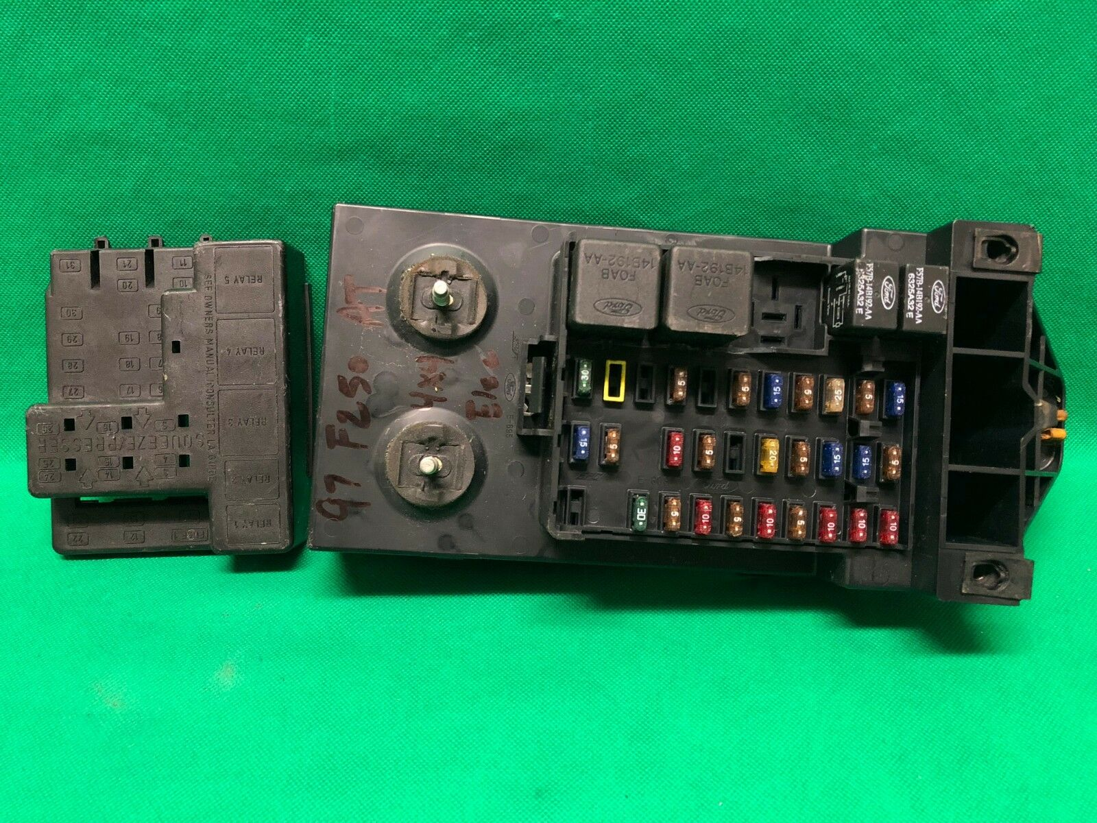 similar listings  ✅ 99 00 01 ford f250 f350 sd excursion fuse junction box  relay interior cabin