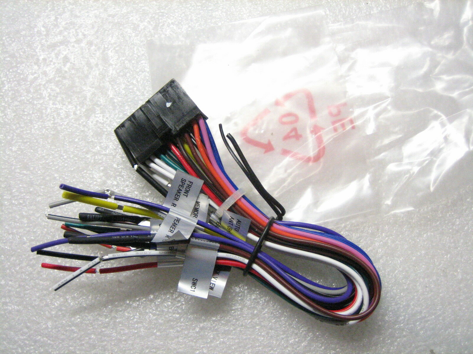 Dual Wire Harness XDVD276BT