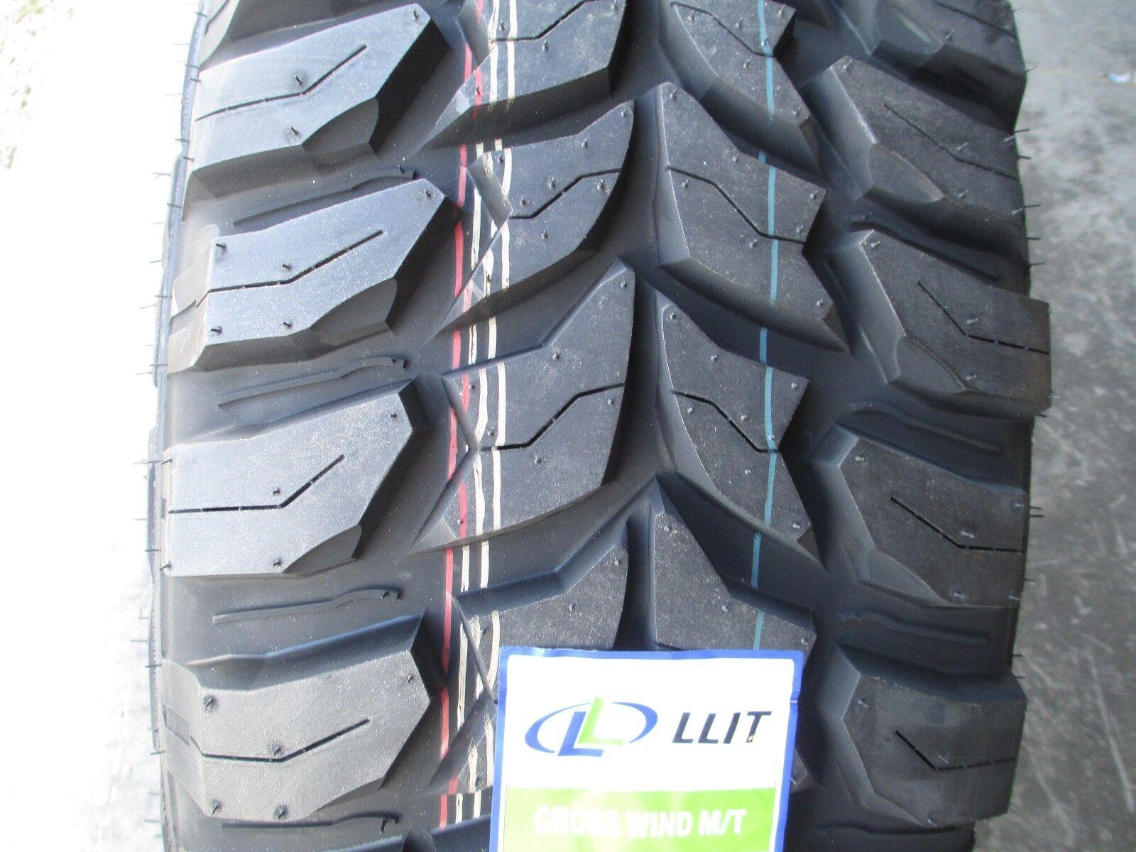 4 New 265 75r16 Inch Crosswind Mud Tires 2657516 M T Mt 265 75 16