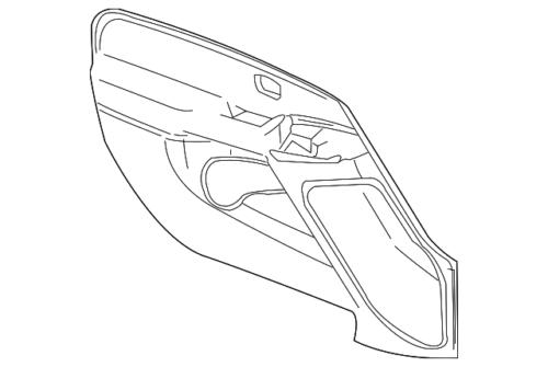 Genuine GM F Armrest 84593069