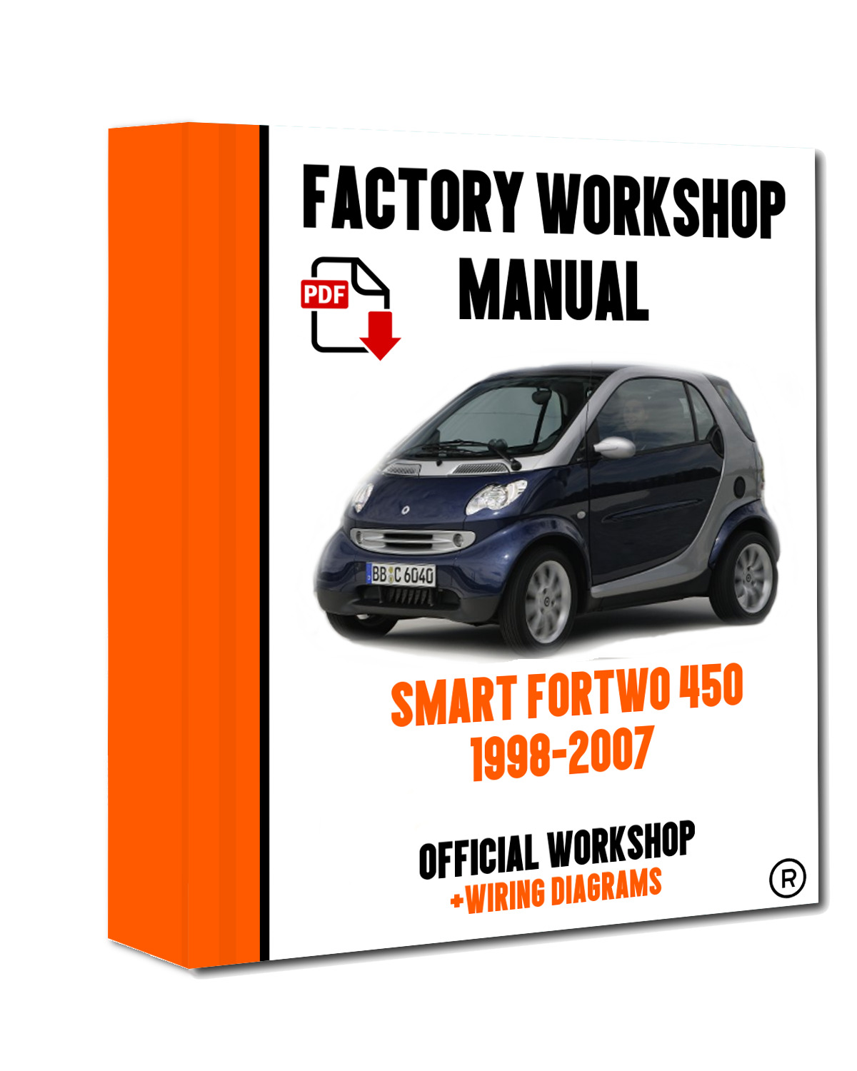 Official Workshop Manual Service Repair Smart Fortwo 450 451 1998 1997 Dodge Mins Wiring Diagram 2007 For Sale