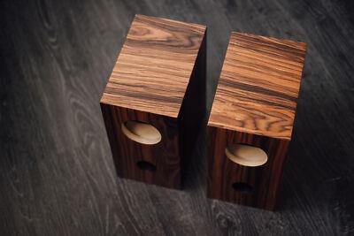 Speaker box for Fostex FE107E - FE103E pair, Bass Reflex Type