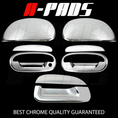 For Ford F  Chrome Mirror Cap  Doors Handles Keypad Tailgate Covers