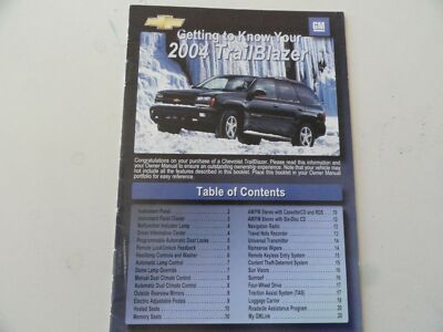 2004 Lexus Navigation Quick Reference Guide Owners Manual Supplement