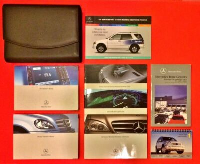 2003 mercedes benz m class ml500 owners manual