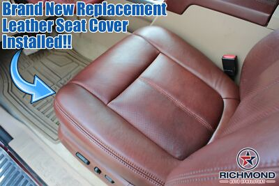 2005 2006 Ford F250 King Ranch DRIVER Side Bottom Replacement Leather Seat Cover
