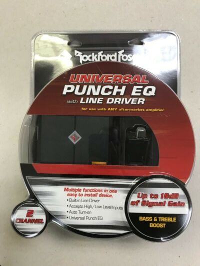 ROCKFORD FOSGATE PUNCH LEVEL CONTROL BASS KNOB PS-8 P300-10