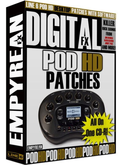 DigiTech RP360 Patches Guitar Effects Pedal Tone Presets Amp
